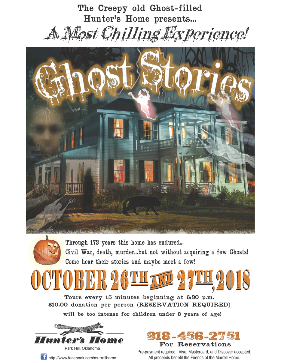 26th annual Ghost Stories, Hunter's Home | OHS Calendar