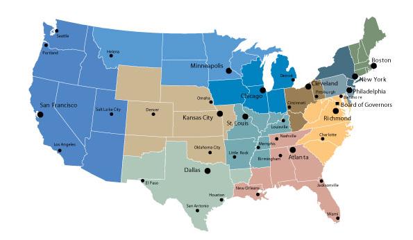 History Of Federal Banking - Oklahoma us senator map