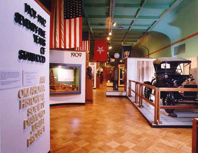 75th Anniversary of Statehood exhibit