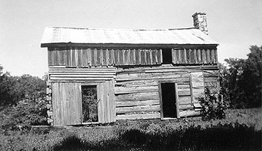Historic photograph of Choctaw Chiefs House