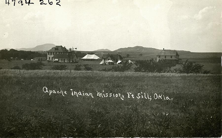 Apache Fort Sill The Encyclopedia Of Oklahoma History