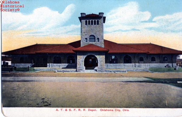 atchison topeka and santa fe railway the encyclopedia of oklahoma history and culture atchison topeka and santa fe railway