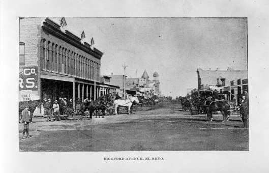 El Reno Opera House 21175 172 Frank Parman Collection Ohs