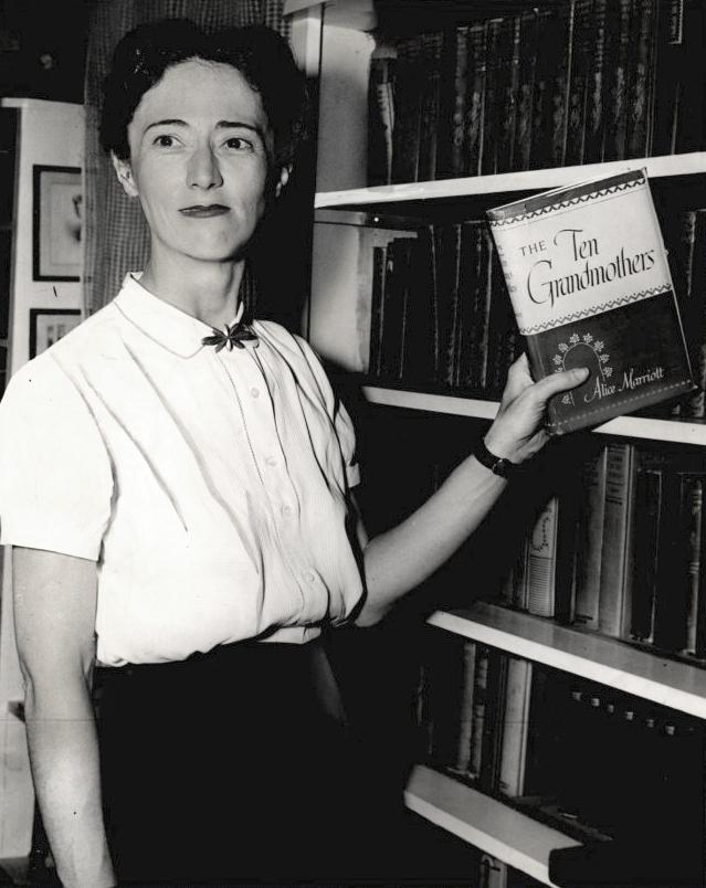 Marriott Alice Lee The Encyclopedia Of Oklahoma History