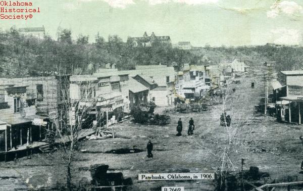 Pawhuska The Encyclopedia Of Oklahoma History And Culture