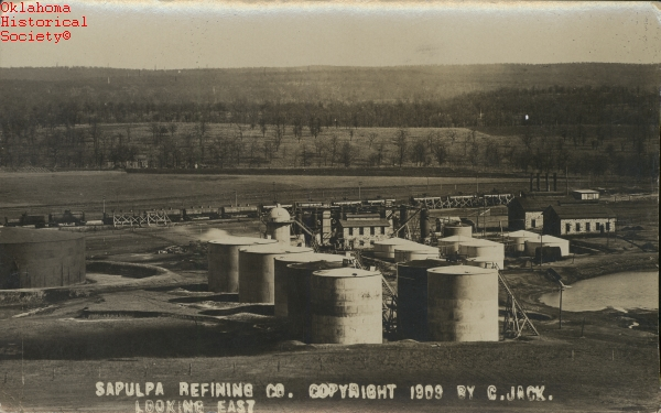 Refineries The Encyclopedia Of Oklahoma History And Culture
