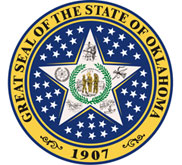 The State seal of Oklahoma