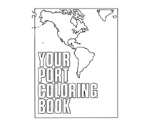 Transportation Coloring Booklet