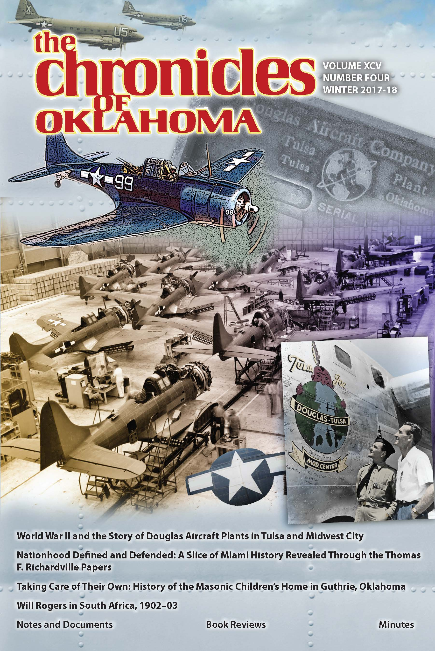 The Chronicles of Oklahoma | Contents