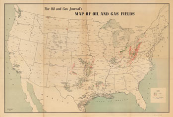 Ohs research center map collections mapping natural resources has a long history in oklahoma the oil gas journal is a publication out of houston texas devoted to the petroleum industry sciox Choice Image