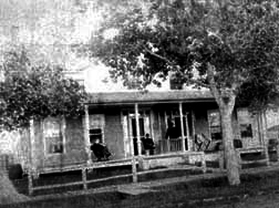 Officer's Quarters in 1886