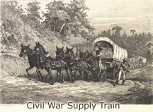 Illustration of Supply Wagon